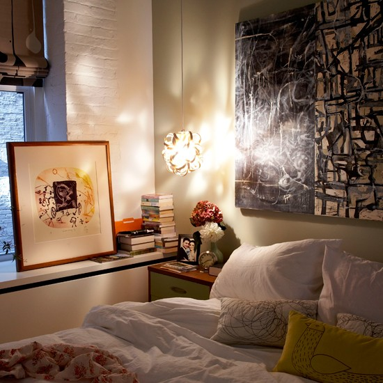 Loft Modern Bedroom Design Ideas: New York Loft-style Apartment House