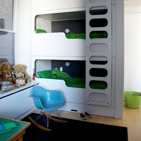 Twin Boys Room Ideas: New York Loft-style Apartment House