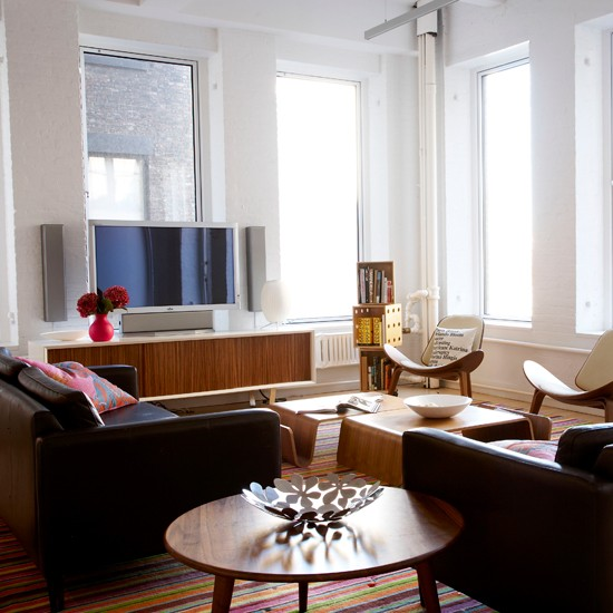 Home Decor Stores New York: New York Loft-style Apartment House Tour