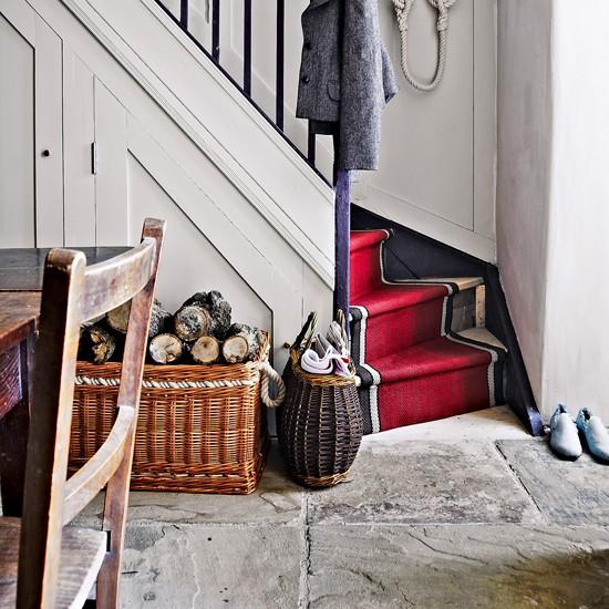Rustic flagstones   Flooring ideas for hallways - 10 of the best ... - Deco Ideas Stylish Hallways