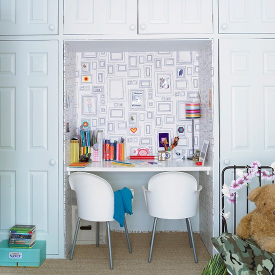 Kids Study Area Ideas