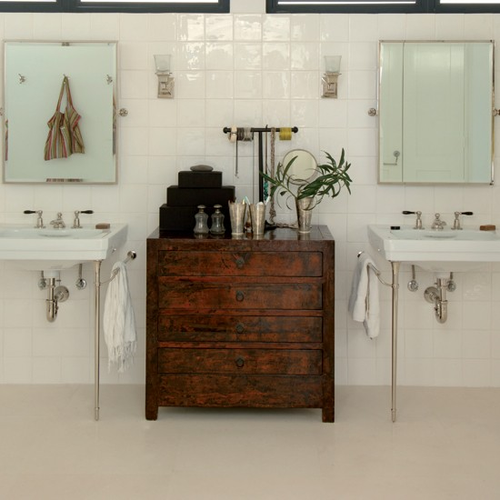 Concrete Bathroom Floor: Bathroom Flooring Ideas