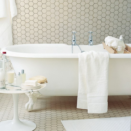 Small Bathroom Tile Ideas: Flooring For Small Bathrooms