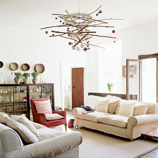 Modern Country Living Room: Take A Tour Around A Modern Country
