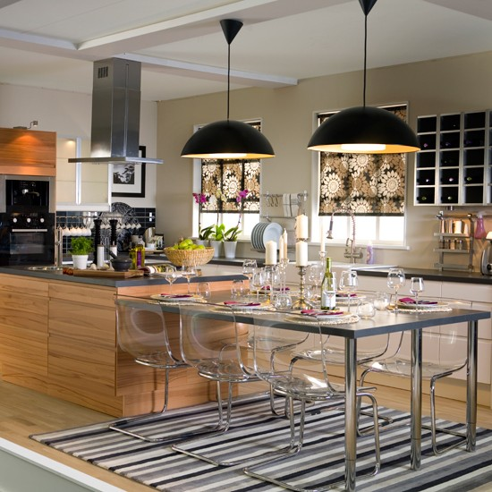Creating An Open Kitchen And Dining Room: Incorporate A Mix Of Lighting