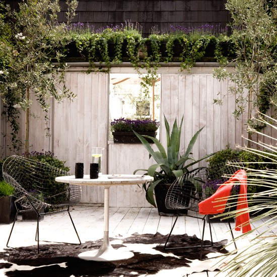 Small Garden With Decked Path And Arbour: Contemporary Gardens - 10 Best