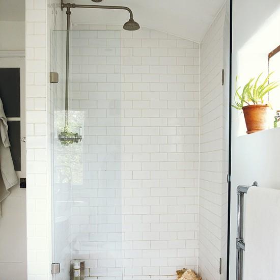 Bathroom Shower Decorating Ideas: Urban-style Bathroom Shower