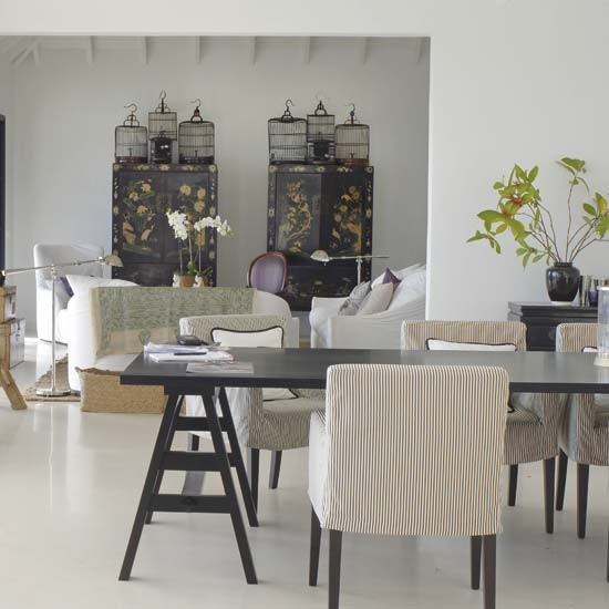 Caribbean Home Decor: Dining Room And Living Space