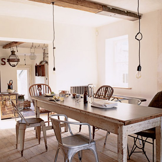 Shabby Chic Dining Room Table: Take A Tour Around A Salvage
