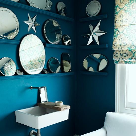 Bold Bathroom Mirror Display
