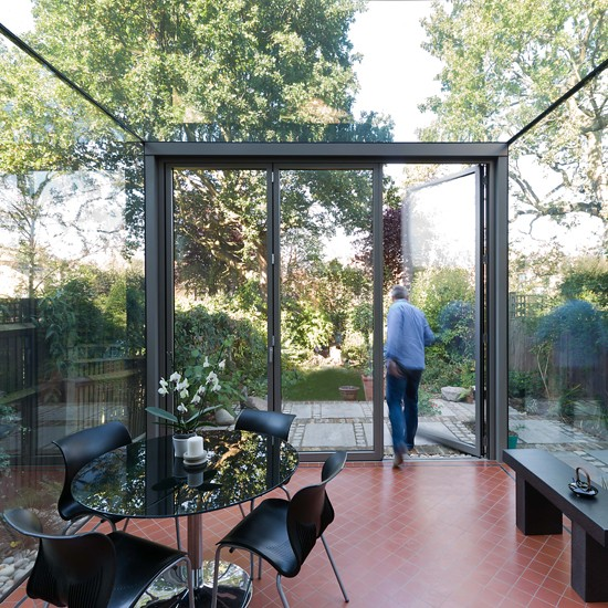Make And Take Room In A Box Elizabeth Farm: Contemporary Glass Conservatory