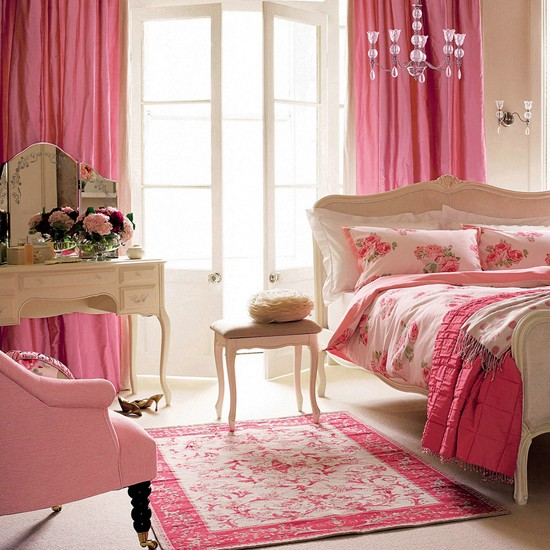 Girly Bedroom Ideas For Small Rooms: Teenage Girls Bedroom Ideas
