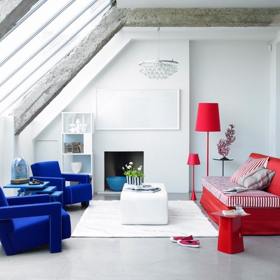 Bold Living Room Colors: Go Bold With Primary Colours