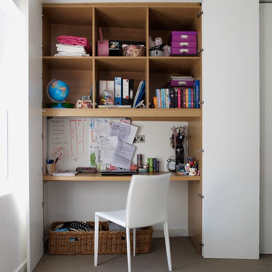 Home Offices In Small Spaces: Storage Solutions For Small