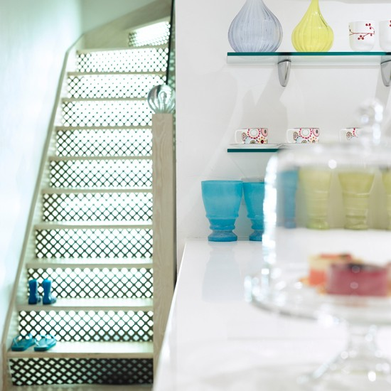 58 Cool Ideas For Decorating Stair Risers: Hallways And Stairs — 10