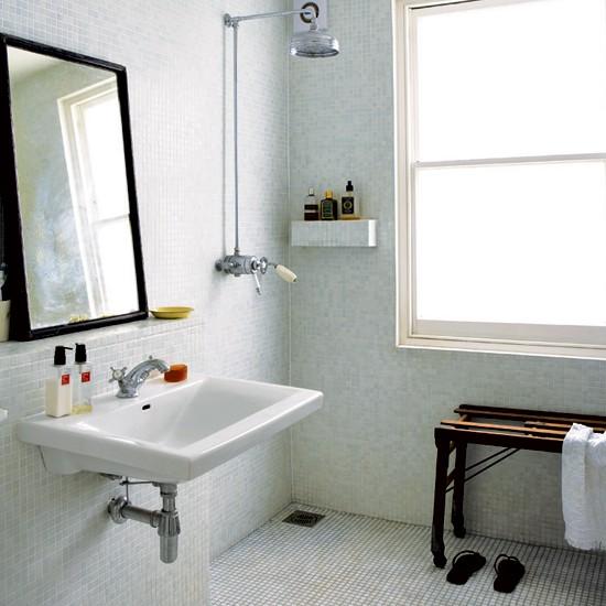 Wetroom Tasteful Period Terrace House Tour Housetohome