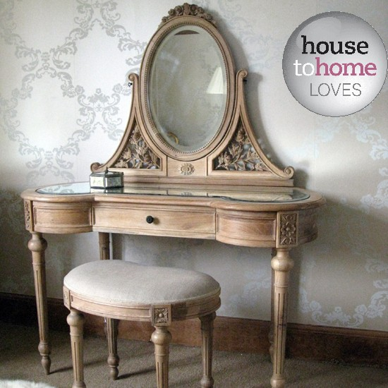 bedroom dressing table and stool from the french bedroom company. Black Bedroom Furniture Sets. Home Design Ideas