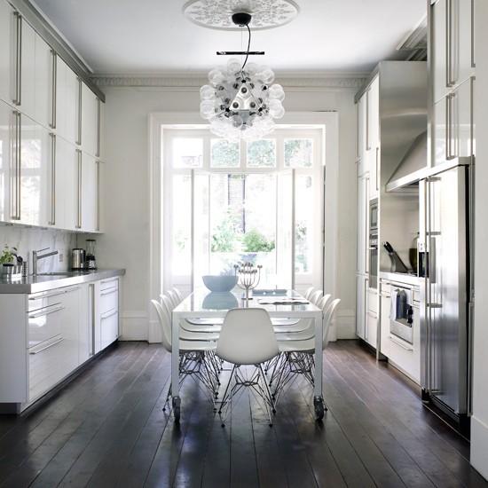 Dark Wood Kitchen Flooring: Kitchen Flooring Ideas - 10 Of
