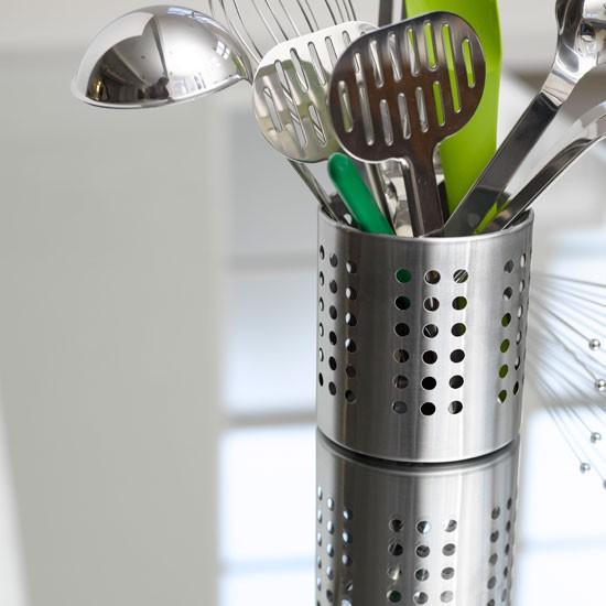 Ikea Ordning Cutlery Utensil Holder Caddy Stainless Steel