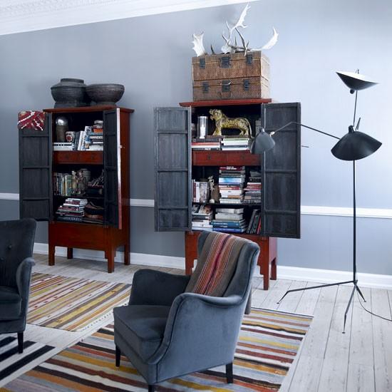 Family Room Storage Ideas: Apartment In Copenhagen
