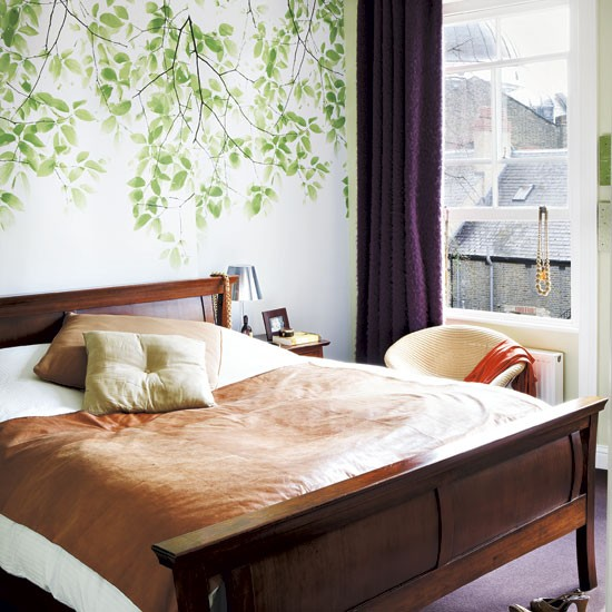 Peaceful Bedroom Decorating Ideas: Mary Portas, Queen Of Shops House Tour
