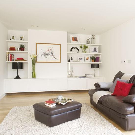 Contemporary Oak Living Room