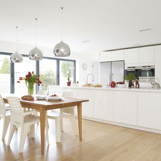 Dining Lighting Ideas: Light-filled Kitchen-diner
