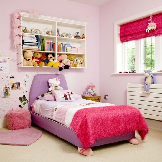 Girly Bedroom Ideas For Kids: Children's Bedroom Ideas For Every Age