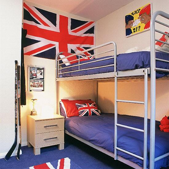 Union Jack Bedroom: Children's Bedroom Ideas For