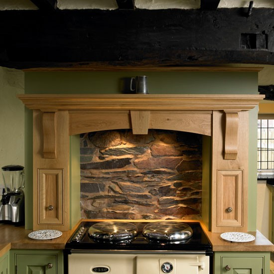 range cooker  step inside this period country kitchen