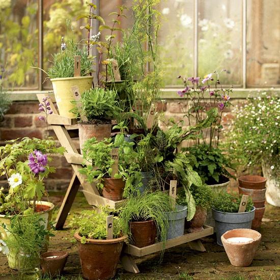 Patio Herb Garden Idea: INTERIOR DESIGN CHATTER : Spring Garden Ideas