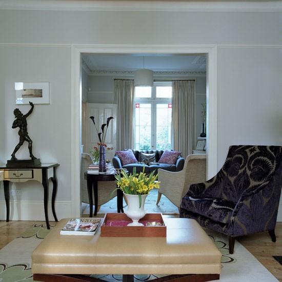 Open Plan Living Room Decor: Step Inside Designer Andrea Maflin