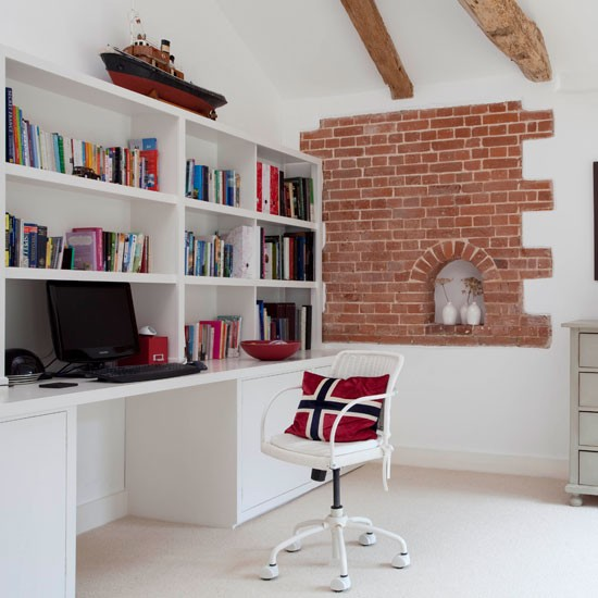 Astounding Home Office Wall Edeprem Com Largest Home Design Picture Inspirations Pitcheantrous