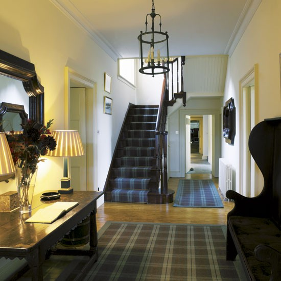 Hallway Decorating Ideas House: Take A Tour Around A Scottish Highland Retreat