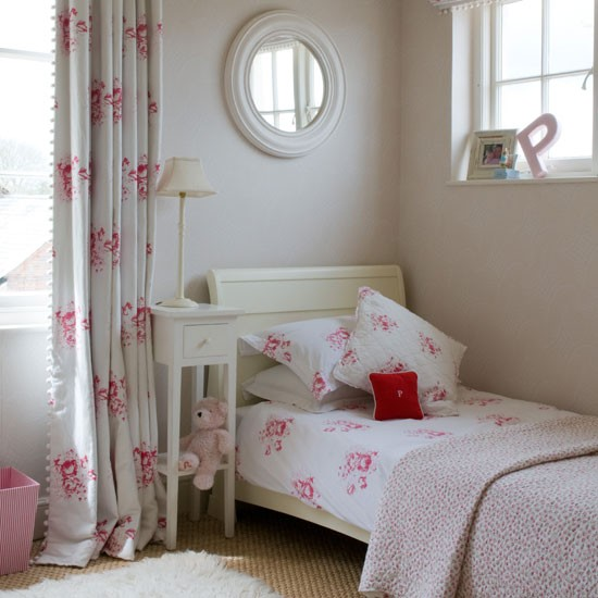 Pretty Room Decorations Pink Girls Bedroom Ideas Pretty: Pretty Pink Girl's Bedroom