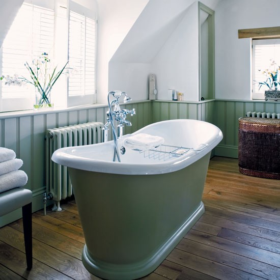 Spa Look Bathrooms: Rural Warwickshire House Tour
