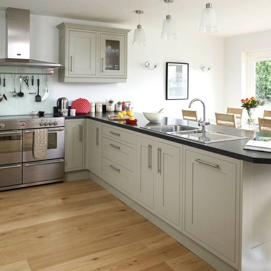 Open Contemporary Kitchen Design: Be Inspired By This Contemporary Open-plan Kitchen