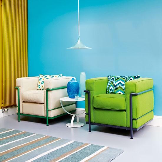Bold Room Designs: Bold Modern Living Room