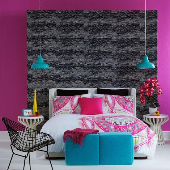 Colourful Bedroom Idea