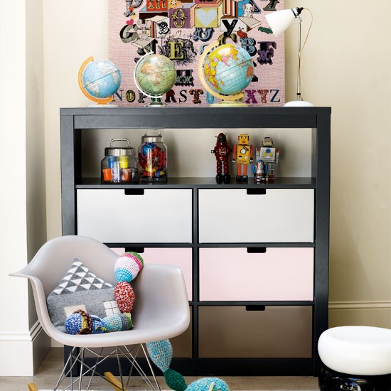 Kids Room Ideas For Playroom: Contemporary Children's Bedroom
