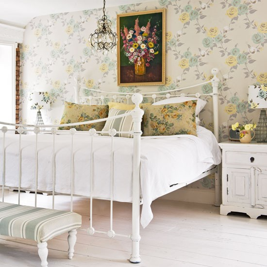 Cottages Style, Beds Rooms, Cottages Bedrooms, Antiques