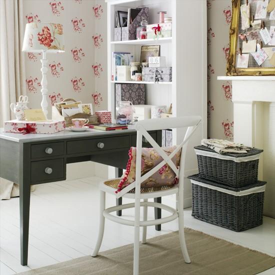21 Feminine Home Office Designs Decorating Ideas: Arq.MarjorieKaroline: Arquitetura E Construção: Cinco