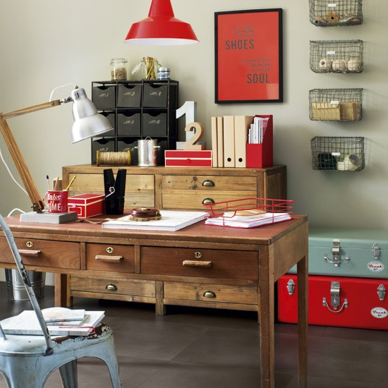 Make your home office industrial | 5 clever ideas for home ...