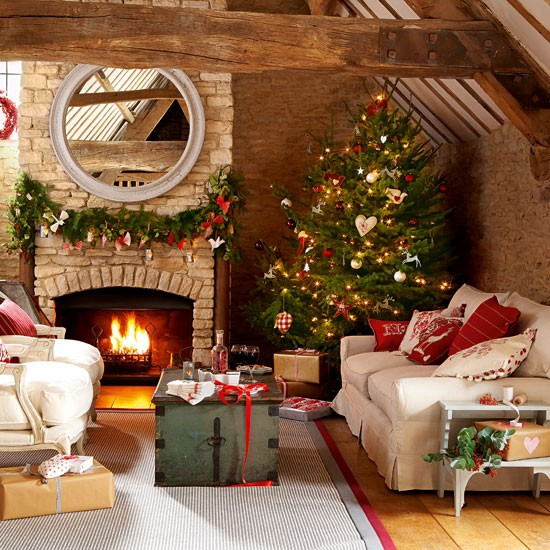 Home Design Ideas For Christmas: Handmade Christmas Decorating Ideas