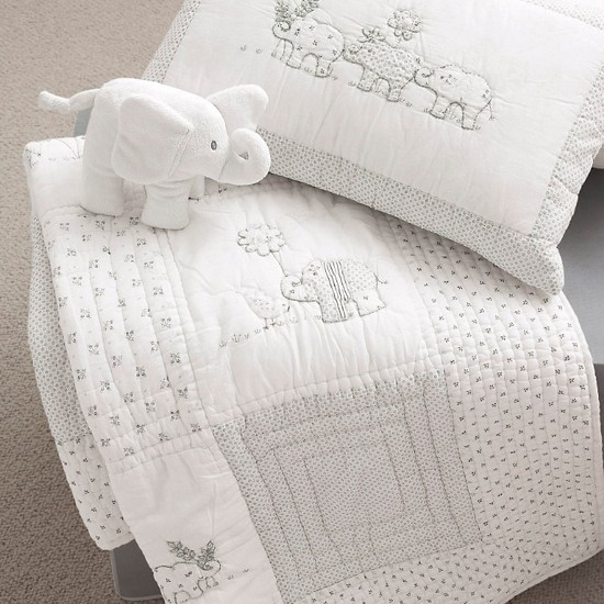Baby Elephant Bedding From The White Company Christmas
