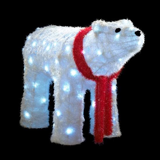Lighted Polar Bear Christmas Decorations