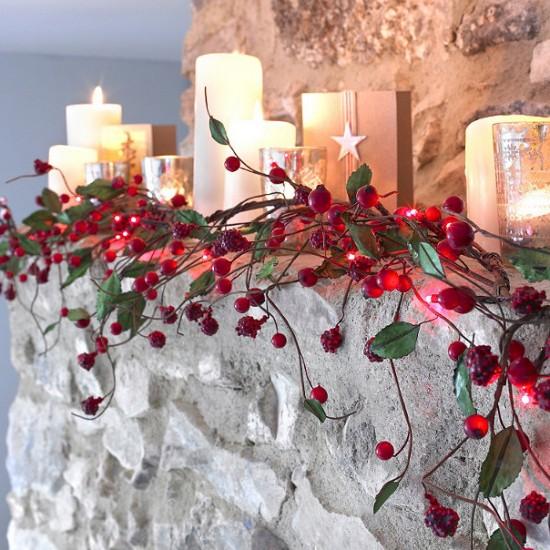 Indoor christmas lights best of 2011 - Indoor string light decoration ideas ...