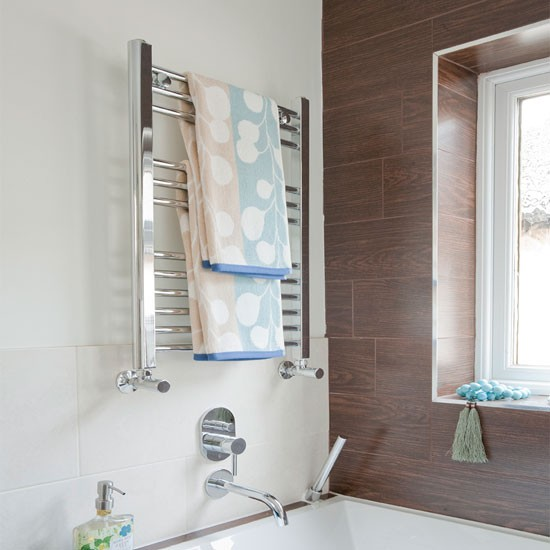 Bath mixer & towel rail | Give your bathroom a spa ...
