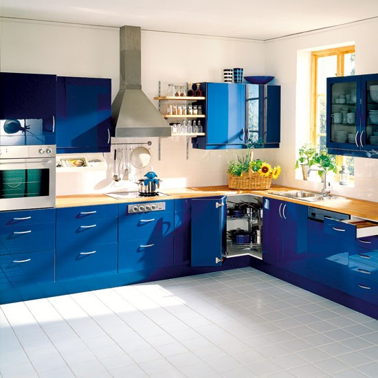 Colours For Kitchens: Kitchen Decorating Ideas