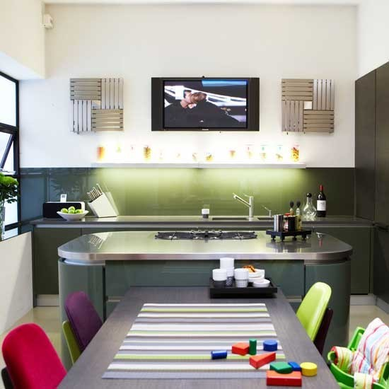 Kitchen diner ideas for easy living - Designs for kitchen diners open plan ...